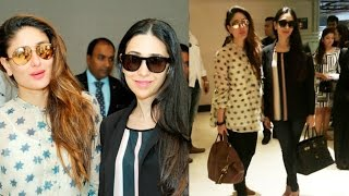 Kareena Kapoor And Karisma Kapoor In Dubai For TOIFA Awards 2016