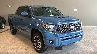 2019 Toyota Tundra 4X4 CrewMax TRD Sport   Toyota Northwest Edmonton   9TU3638