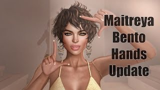 Maitreya Lara Mesh Body Bento Update in Second Life