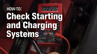 How to Check Your Starting and Charging System