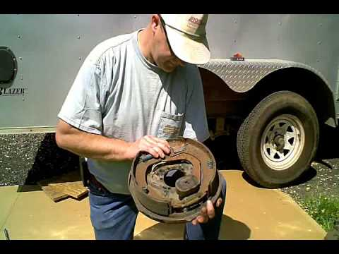 How to trailer brakes & bearings pt1