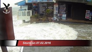 Storm on 07.02.2016 / Koh Samui