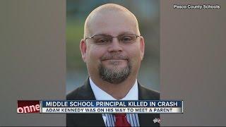 Pasco school principal killed in logging truck accident