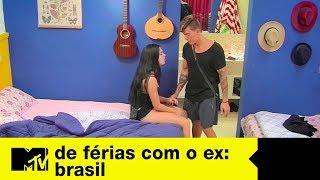 Galera brinca na sala, Gabriel e Ana ficam no quarto   De Férias Com O Ex Brasil Ep. 08