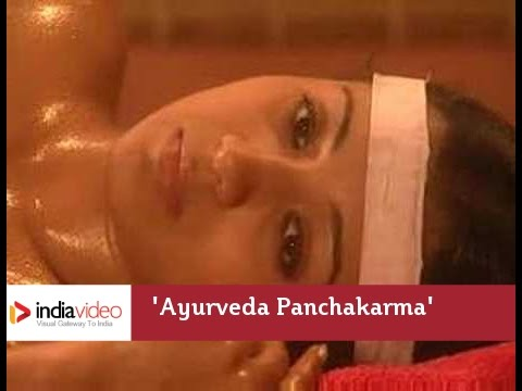 Ayurveda Panchakarma Oil Massage Bath Snehadhara video
