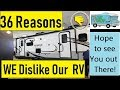 36 Dislikes on Our BRAND NEW RV ☹