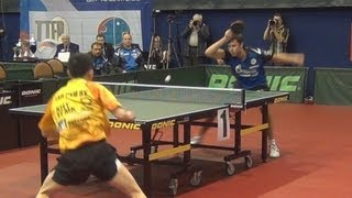 Vladimir SAMSONOV vs TAN Ruiwu FINAL 1of3 Games Russian Premier League Playoff Table Tennis