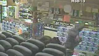 Store Owner Gets A Gun Pulled On Him So He Pulls His Out And Fires