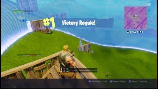My First Win (Fortnite Battle Royale)
