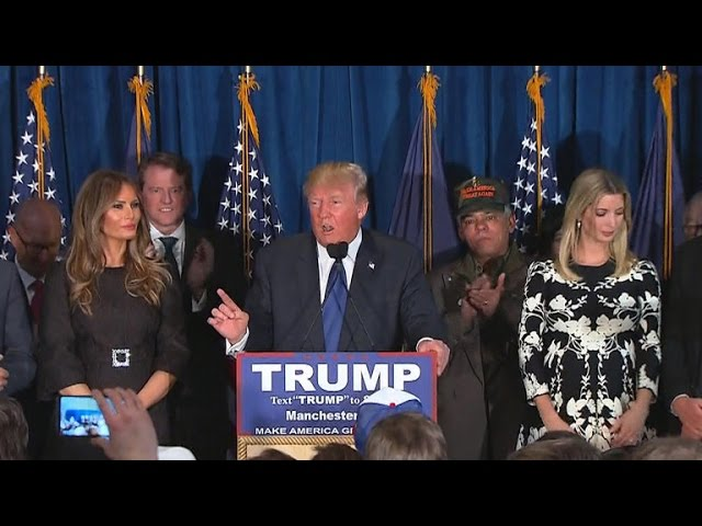 Trump bounces back to claim N.H. primary win