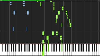 The Imperial March - Star Wars [Piano Tutorial] (Synthesia)