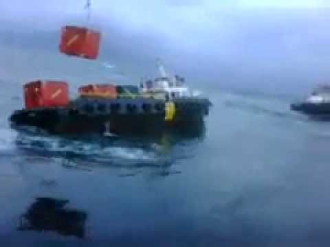 Supply Vessel in Trouble