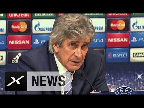 Manuel Pellegrini schimpft über Financial Fairplay | FC Barcelona - Manchester City 1:0