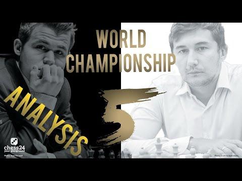 Carlsen - Karjakin Game 5 World Chess Championship 2016 | Grandmaster Analysis