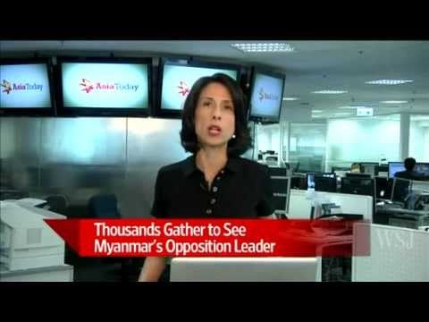 Suu Kyi Tests Leash With Myanmar Tour