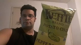 KETTLE BRAND POTATO CHIPS PEPEROCHINI REVIEW. AND WHAT'S THE INGREDIENTS
