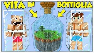 COME VIVERE IN UN MONDO IN BOTTIGLIA! - Minecraft ITA