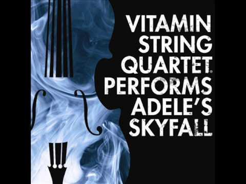 Vitamin String Quartet Performs Adele's Skyfall (Full)