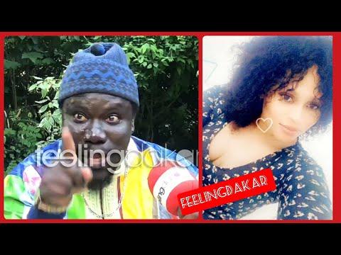 Diop Fall s'énerve sur la question de l'animatrice qui insiste sur sa relation en cachette avec