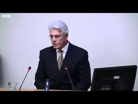 "Max Clifford Phone Hacking ""Cancer Is Being Cut Out"" - Leveson"