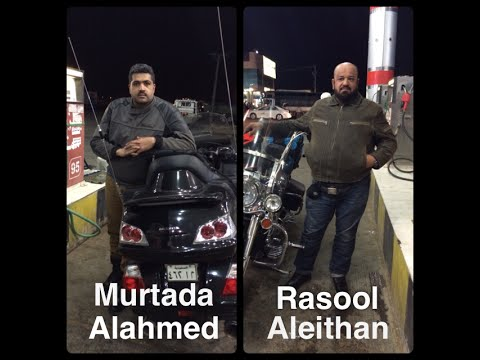 Rasool & Murtada Riding Challenge from Dammam to Paris by Motorcycles