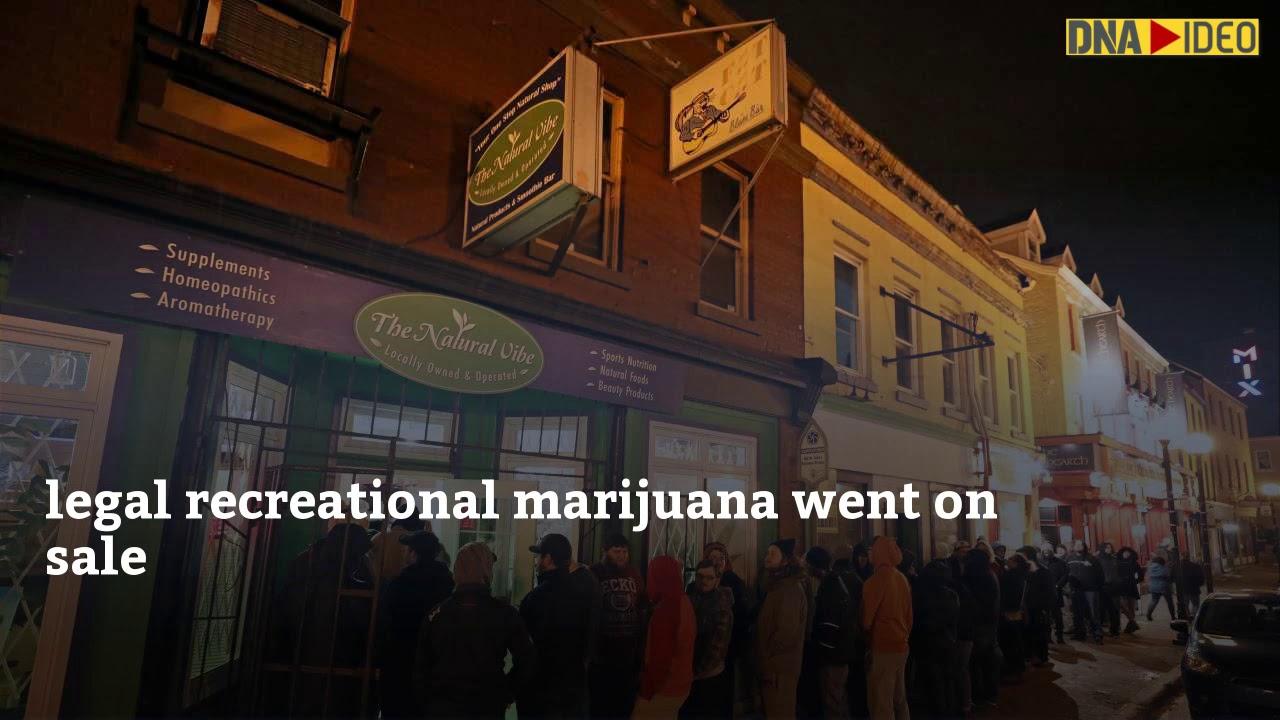 Puff, puff, pass: How Canada celebrated after legalising recreational marijuana
