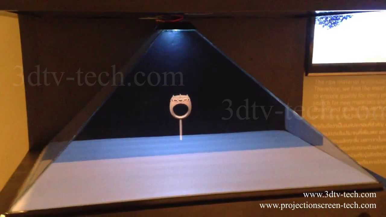 3d Hologram Pyramid Youtube