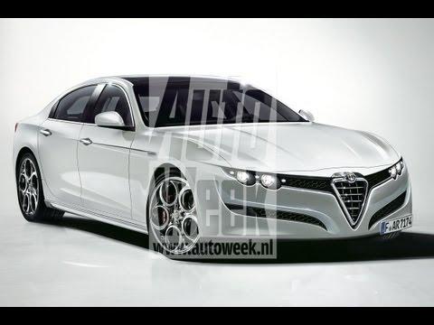 AutoWeek Journaal - Alfa 166-opvolger heet Alfetta