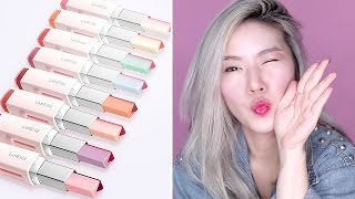 BEAUTY TRYOUTS / LANEIGE TWO TONE LIP TINT BARS