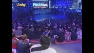 stripped Anne Curtisduring It's Showtime