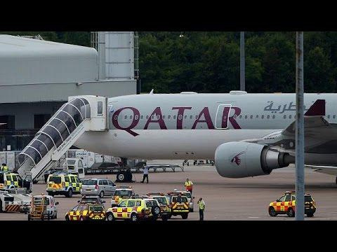 RAF escorts passenger plane to Manchester airport after threat