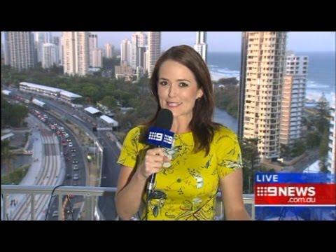 9 News Gold Coast - Indoor Skydiving
