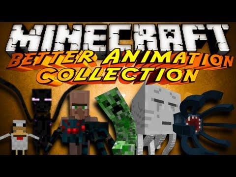 Minecraft Mod Showcase : BETTER ANIMATION COLLECTION!