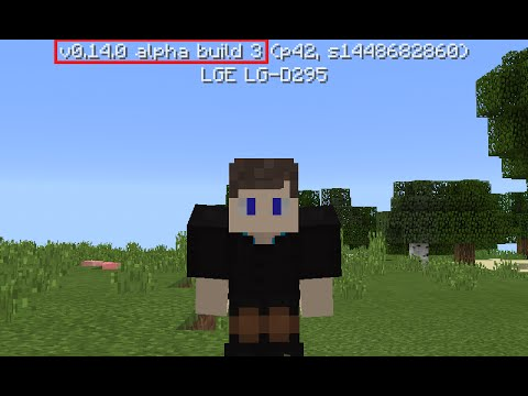 MINECRAFT PE 0.14.0 ALPHA BUILD 3 REVIEW ! NOVA ATUALIZAÇÃO MCPE 0.14.0 ALPHA BUILD 3 !