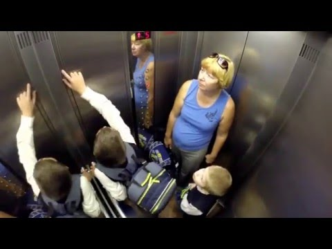 Лифт имеет право застрять