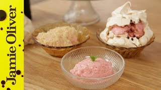 How to make a 45 Second Ice Cream   Jamie Oliver