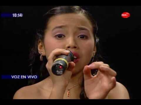 NiÑa Cantante Karely Maza En Belmont Presenta (22-07-13) video