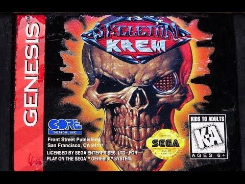 Classic Game Room - SKELETON KREW review for Sega Genesis
