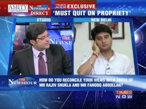 The Newshour Direct: Jyotiraditya Scindia