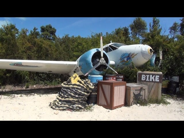 Castaway Cay Island Bike Tour, Disney Cruise Line - Includes View of Island From Tower