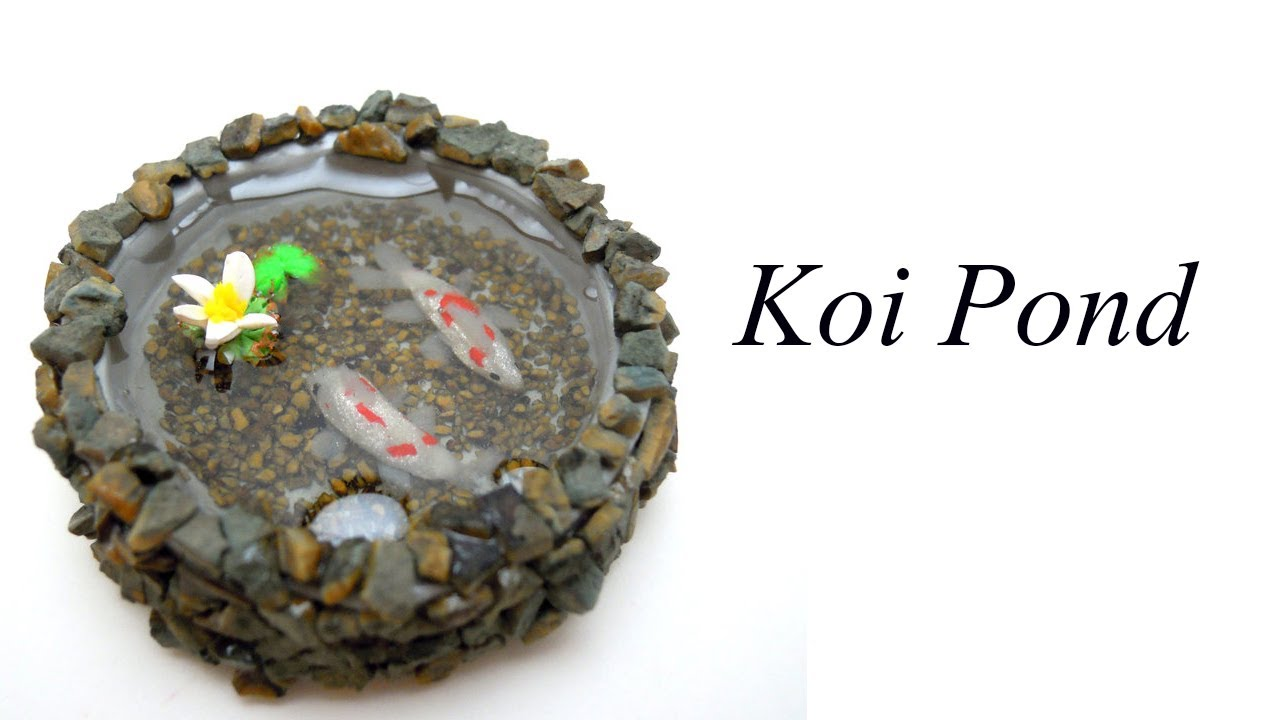 Tutorial koi pond youtube for Clay fish pond