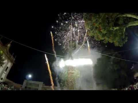 Uruapan, Fuegos artificiales - Celebración de la independencia de México