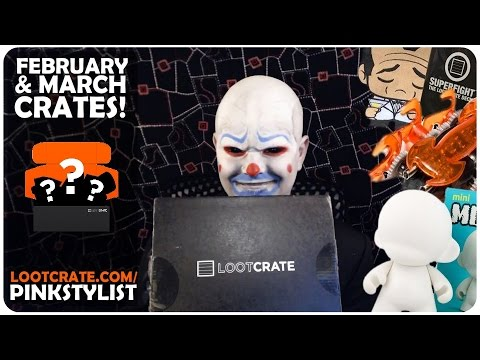 Lootcrate - Unboxing - Play and Covert! - February and March 2015