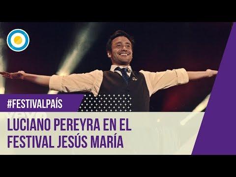 Festival Jesús María 2015 - 11º Noche - Luciano Pereyra 18-01-15 video