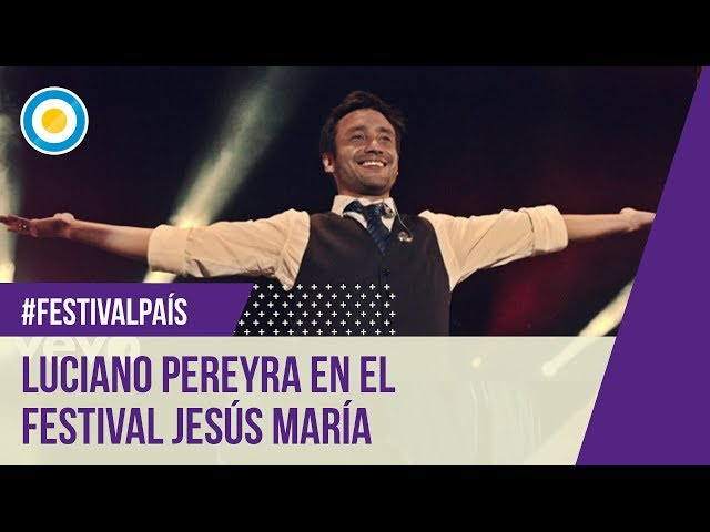 Festival Jesús María 2015 - 11º Noche - Luciano Pereyra 18-01-15