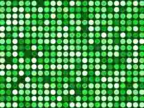 Flashing Circles - Green Video