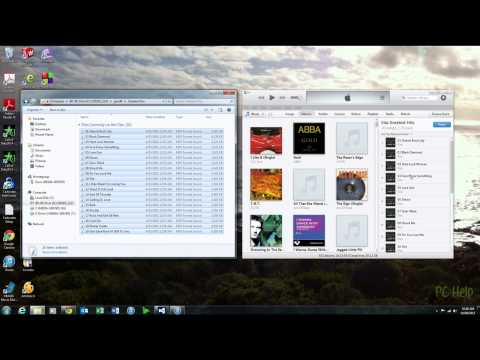 How to import mp3 files into iTunes as albums
