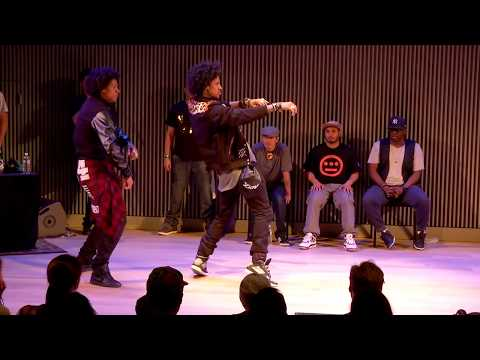 City Dance Live | Battle At Sf Jazz | Les Twins Vs Knuckle Neck Tribe video