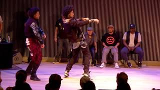 LES TWINS vs KNUCKLE NECK TRIBE | City Dance Live | Battle at SF Jazz
