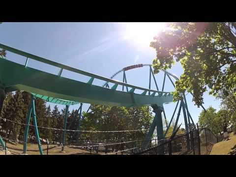 12 Year Old Kid Rides Leviathan
